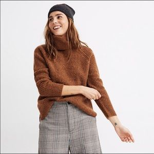 NWT Madewell   Mercer Turtleneck Sweater